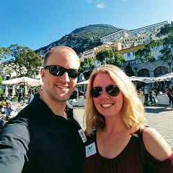 Bryan and Carrie Klein in Spain